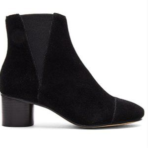 Rebecca Minkoff Ankle Bootie Izette Black Suede Size 7